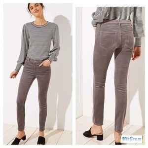 Loft Modern Skinny Corduroy Pants Size 6
